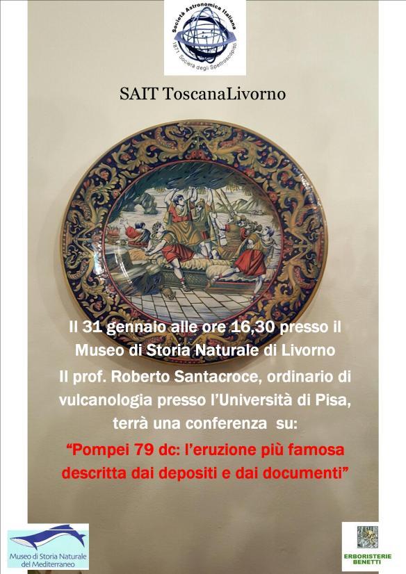 Pompei e la SUA eterna emozione nel Viaggio Che il prof.  Santacroce ci Propone Tra i Documenti ei depositi Che il Vesuvio ha provveduto a lasciare ....